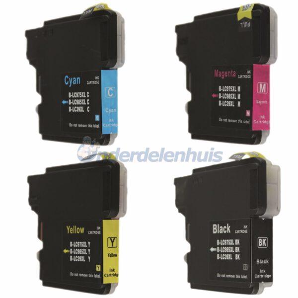 Inkt Brother Multipack LC985 Inkt cartridge Inktpatroon