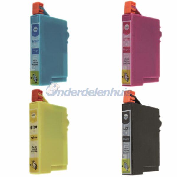 Inksave Epson Multipack Inkt Inktpatroon T1285 Inkt cartridge