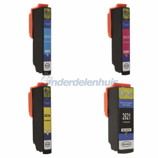Inksave Epson 26XL Inkt cartridge T2636 Multipack Inkt