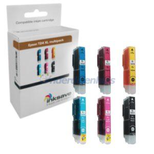 Inkt Epson T24 xl multipack E102-1