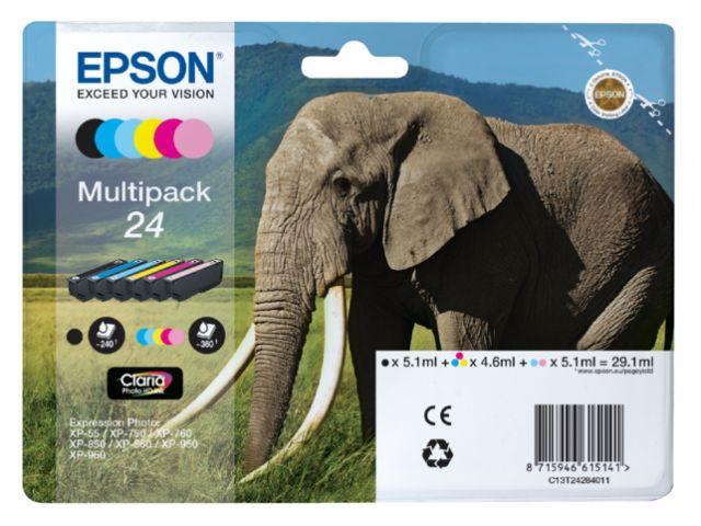 Epson inkt EPSON 24 MULTIPACK ORIGINEEL