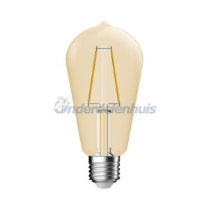 LED Deco E27 2,8W Goud Helder Energetic