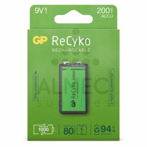 9V batterij oplaadbaar 200mAh kopen