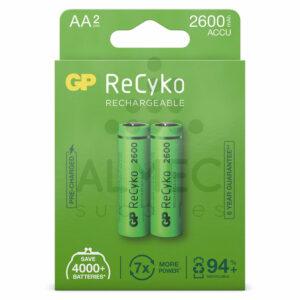 AA batterijen oplaadbaar 2600 mAh 1,2V kopen
