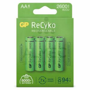 AA batterij oplaadbaar 1,2V 2006mAh 4 stuks GP ReCyko kopen
