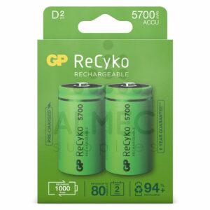 D batterij oplaadbaar 5700mAh 1,2V D mono batterij kopen