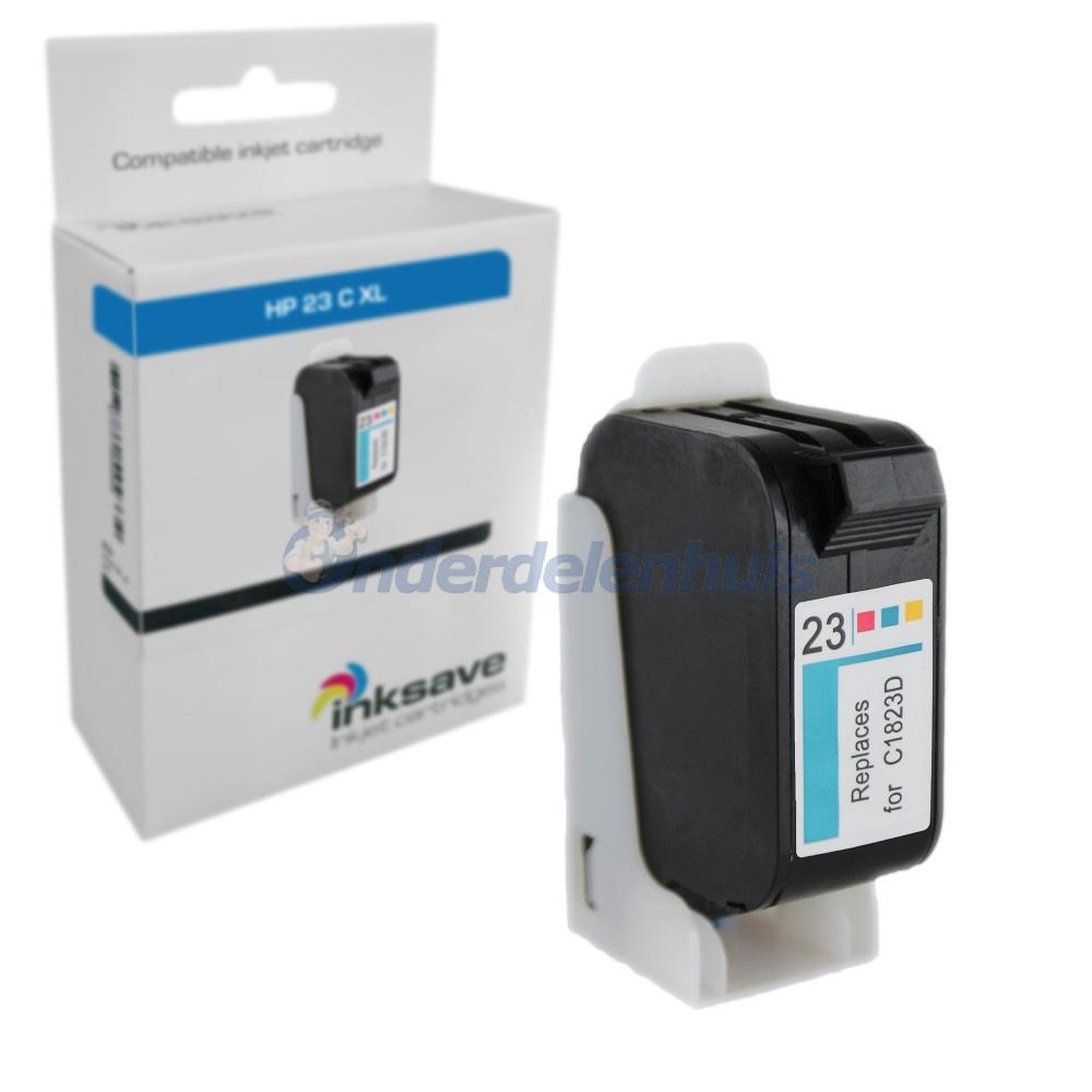 HP Inkt Inktpatroon Inkt cartridge 23 Color Inksave