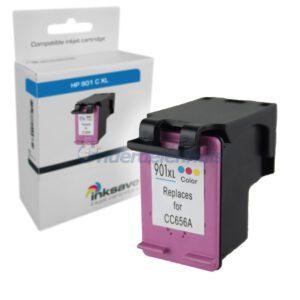 Inkt HP 901 Kleur Inksave Inkt cartridge Inktpatroon