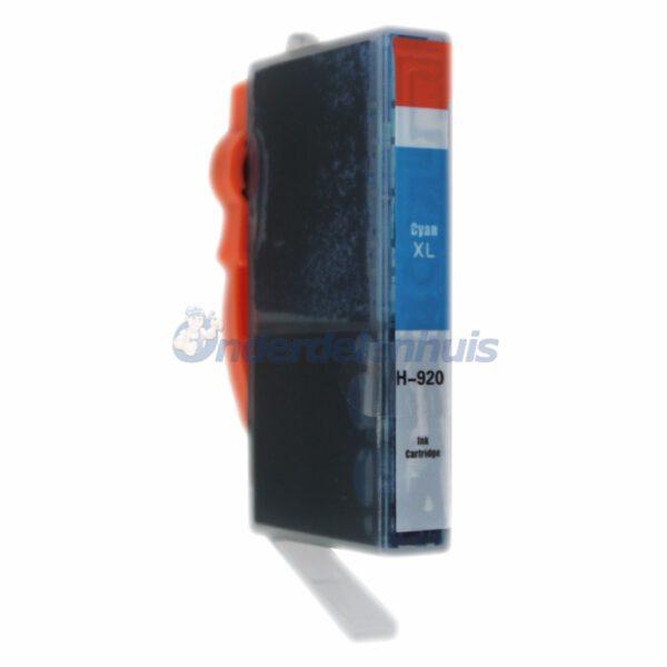 Inksave Inkt HP 920C Cyaan Inktpatroon