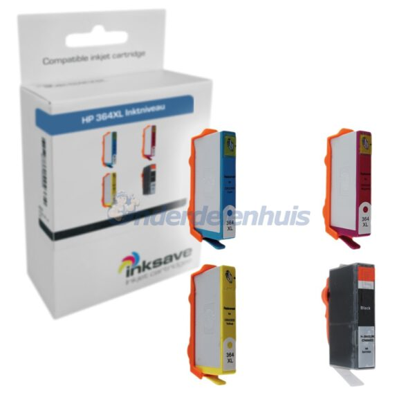 Inkt HP 364 XL Multipack Inksave