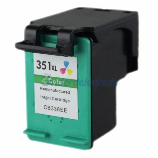 Inkt HP 351 Kleur Inktpatroon Inkt cartridge Inksave