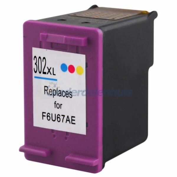 Inksave HP 302 Kleur Inktpatroon Inkt cartridge