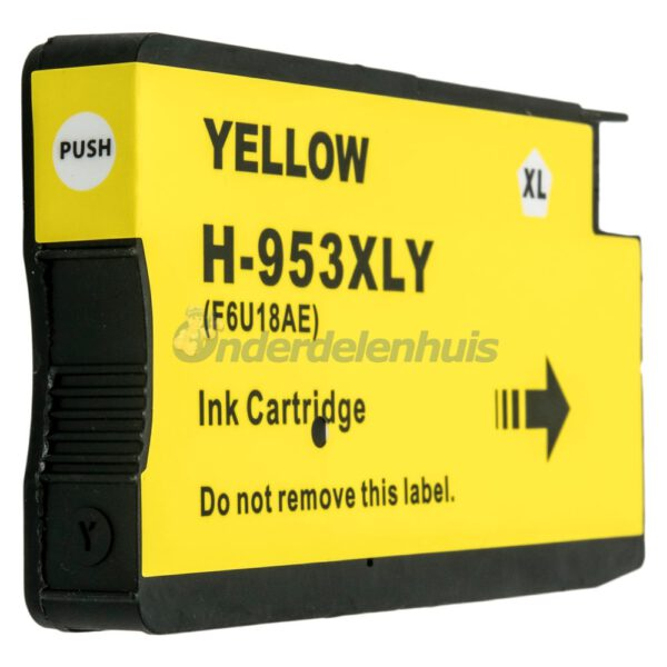 Inksave 953Y Inkt Geel Inkt cartridge Inktpatroon