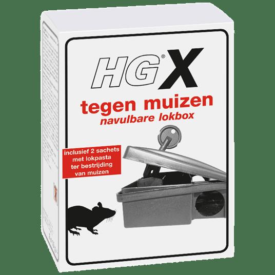 HGX Navulbare Lokbox Tegen Muizen