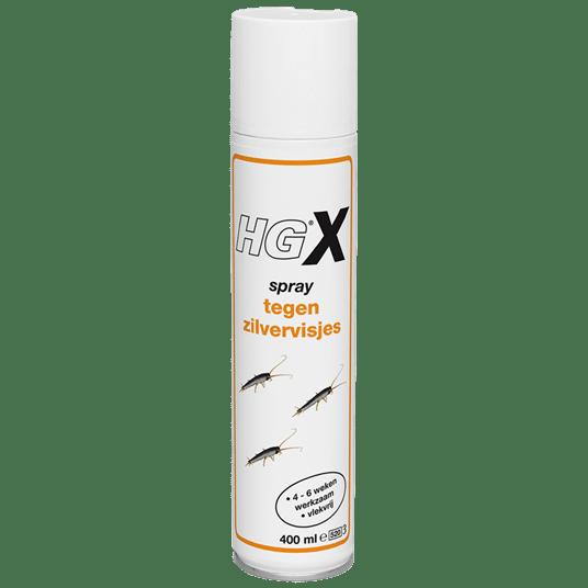 HGX spray tegen zilvervisjes