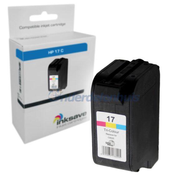 Inksave HP 17C Inktcartridge