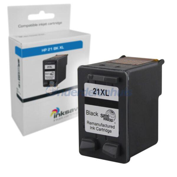 Inksave HP 21BK Inktcartridge