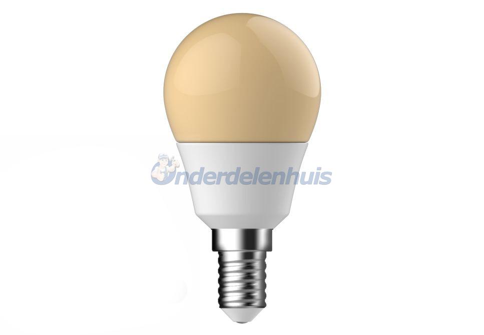 LED kogel flame E14