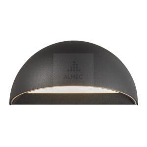 LED Wandlamp Nordlux Arcus Smart Light IP54 Zwart