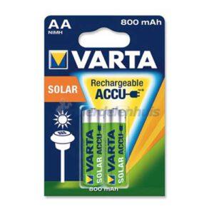 Varta Solar AA Batterijen 800 mAh VT56736101402-1
