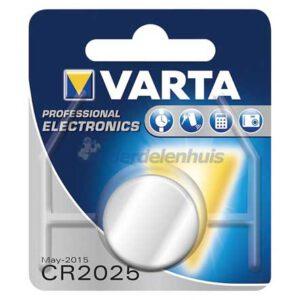 Varta CR2025 3V Lithium batterij kopen
