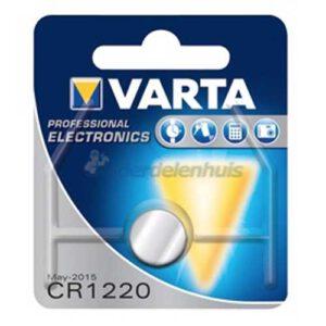 Varta CR1220 3V Lithium batterij kopen
