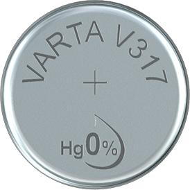 varta v317 sr62 1,55v knoopcel batterij