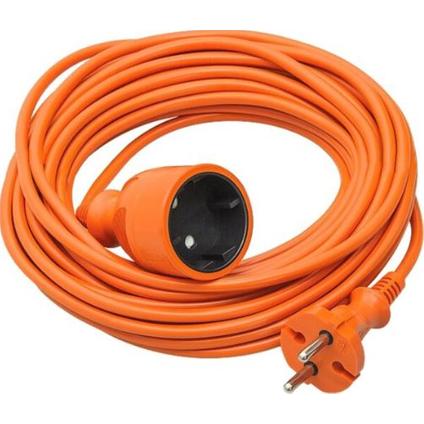 Verlengsnoer 10 meter oranje